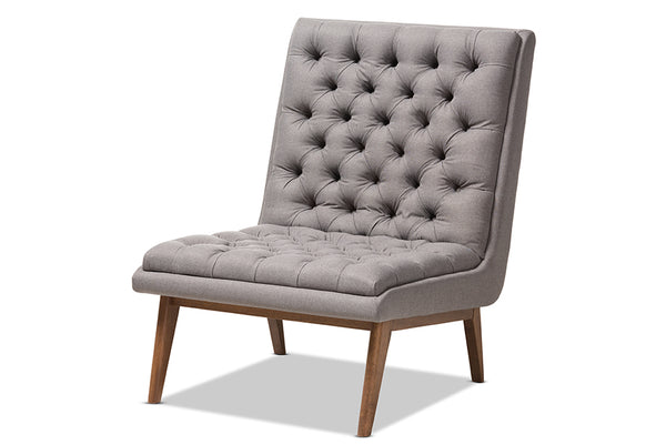 Annetha Grey Lounge Chair