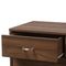 Disa Brown 5-Drawer Chest