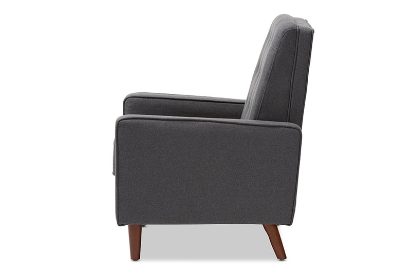 Mathias Grey Lounge Chair