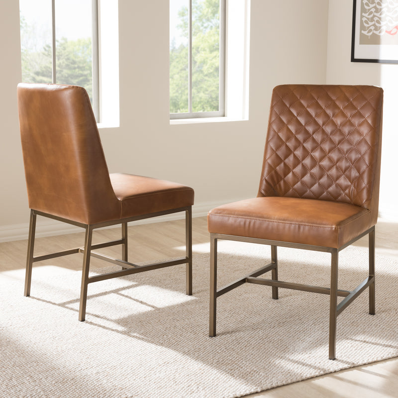MargauxLight Brown Dining Chair (Set of 2)