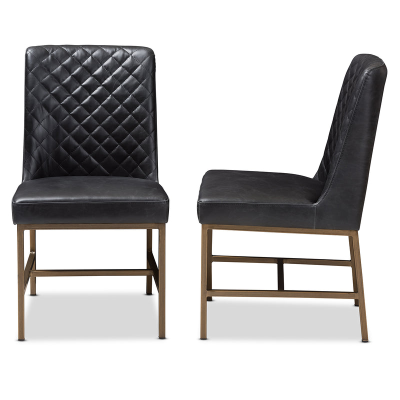 Margaux Black Dining Chair (Set of 2)
