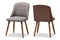 Arsanio Grey Dining Chair Set of 2