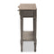 Noelle Gray 1-Drawer Console Table