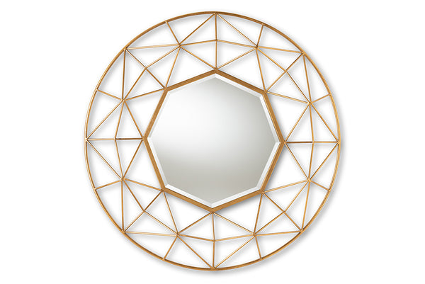 Astra Gold Wall Mirror
