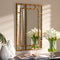 Adra Gold Bamboo Wall Mirror