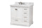 Amaris 36-Inch Transitional White Bathroom Vanity