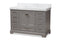 Amaris 48-Inch Transitional Grey Bathroom Vanity