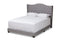 Alesha Grey Queen Size Bed