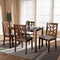 Abilene Grey 5-Piece Dining Set