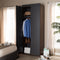 Rikke 7-Shelf Wardrobe Storage Cabinet
