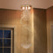 Cellini Crystal Spiral Chandelier