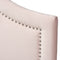 Rita Light Pink Velvet Full Size Headboard