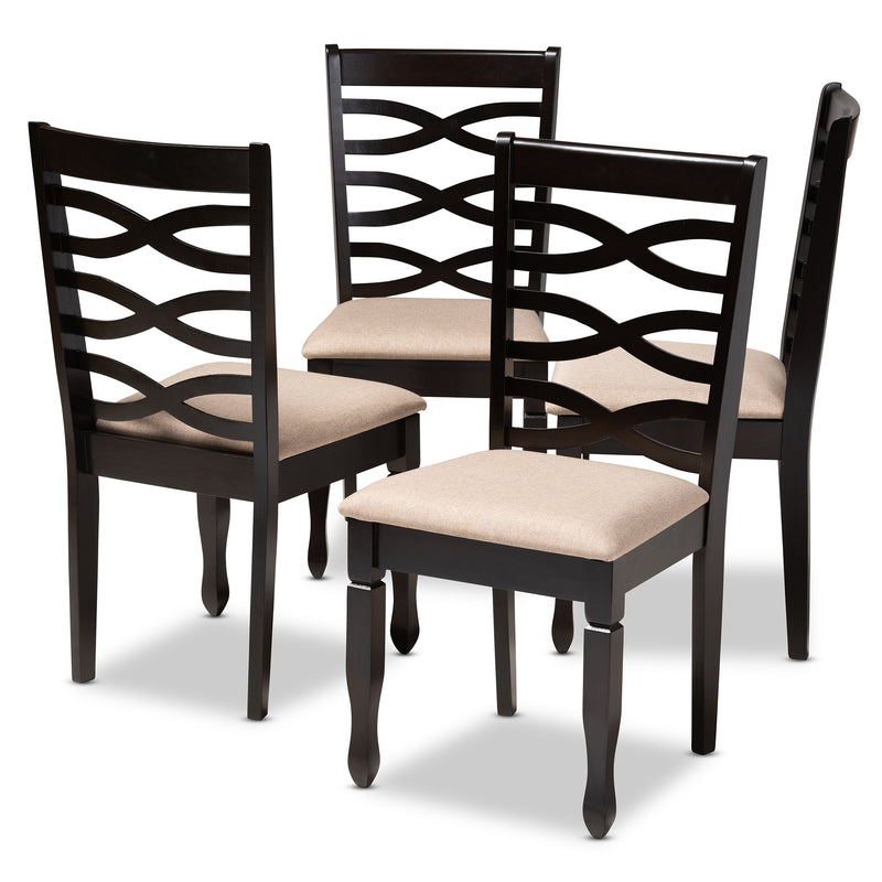 Lanier Espresso Dining Chair Set of 4
