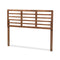 Salome Walnut King Size Open Slat Headboard