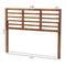 Salome Walnut Brown Queen Size Open Slat Headboard