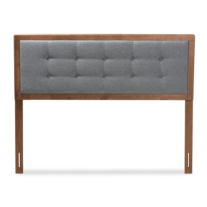 Sarine Dark Grey Full Size Headboard