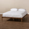 Iseline Walnut Full Size Platform Bed Frame