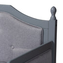 Mara Grey Twin Size Daybed with Trundle