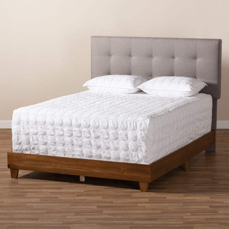 Taida Grey Full Size Bed