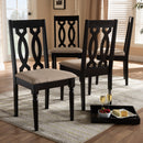 Cherese Espresso Dining Chair Set of 4