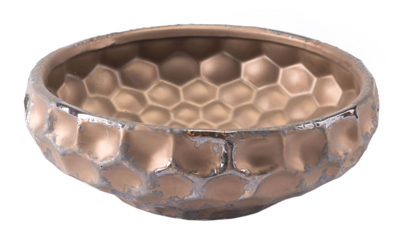 Hammered Bowl Bronze