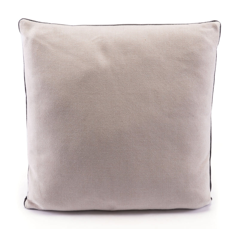 Western Pillow Black & Beige