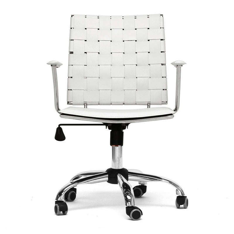 Vittoria White Office Chair
