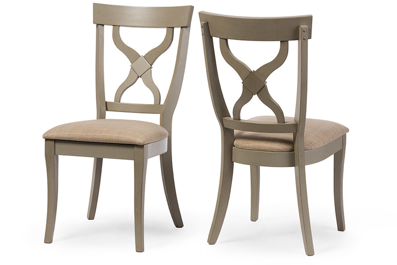 Balmoral Light Grey Dining Chair (Set of 2)