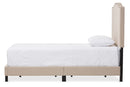 Benjamin Beige Twin Size Bed