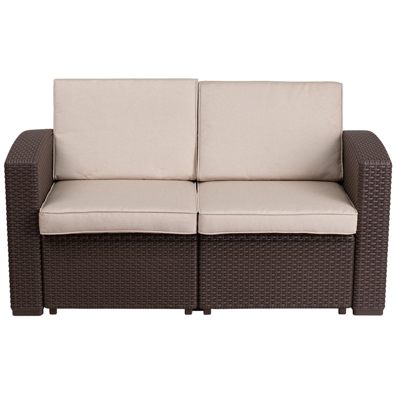 Coco Outdoor Loveseat