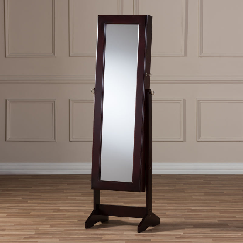 Alena Brown Free Standing Cheval Mirror