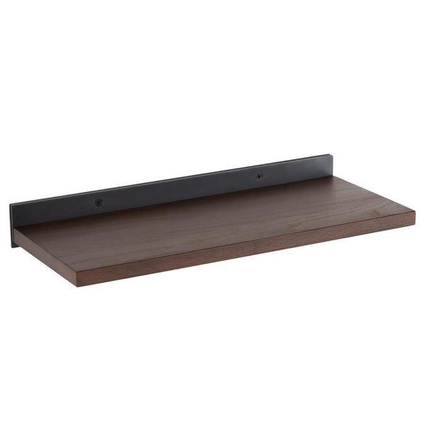 DRIFT SMOKED DISPLAY SHELVING BLACK BRACKETS