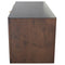 Drift Smoked Sideboard Cabinet Black Top
