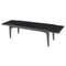 Salk Black Coffee Table Black Legs