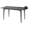 SALK BLACK DESK TABLE BLACK LEGS
