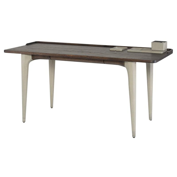 SALK SEARED DESK TABLE GREY LEGS