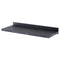DRIFT CERUSED DISPLAY SHELVING BLACK BRACKETS