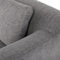 Salk Graphite Single Seat Sofa Black Legs
