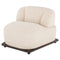 Mesa Sesame Single Seat Sofa Seared Frame
