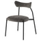 Dragonfly Squirrel Dining Chair Black Frame