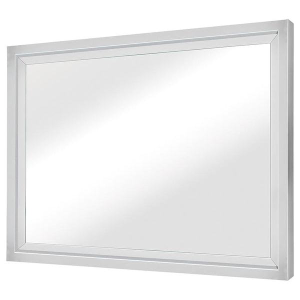 GLAM SILVER WALL MIRROR