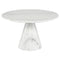 CLAUDIO WHITE COFFEE TABLE WHITE BASE