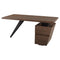 STYX WALNUT DESK TABLE BLACK LEG