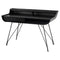 NOORI ONYX DESK TABLE TITANIUM LEGS