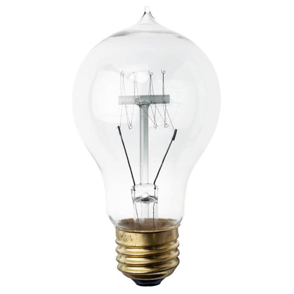A19(WITH TIP ON TOP) CLEAR LIGHT BULB LIGHTING
