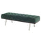 RIKARD EMERALD GREEN OCCASIONAL BENCH