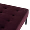 GIULIA MULBERRY DAYBED SOFA BLACK BASE