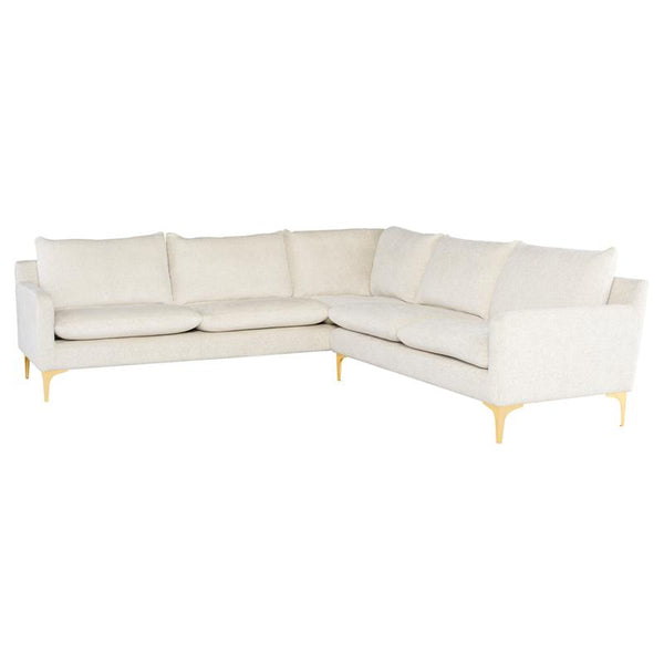 ANDERS COCONUT SECTIONAL SOFA