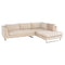 JANIS ALMOND SECTIONAL SOFA