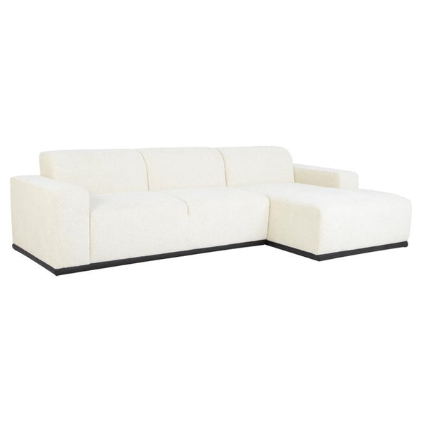 LEO COCONUT SECTIONAL SOFA COCONUT CHAISE